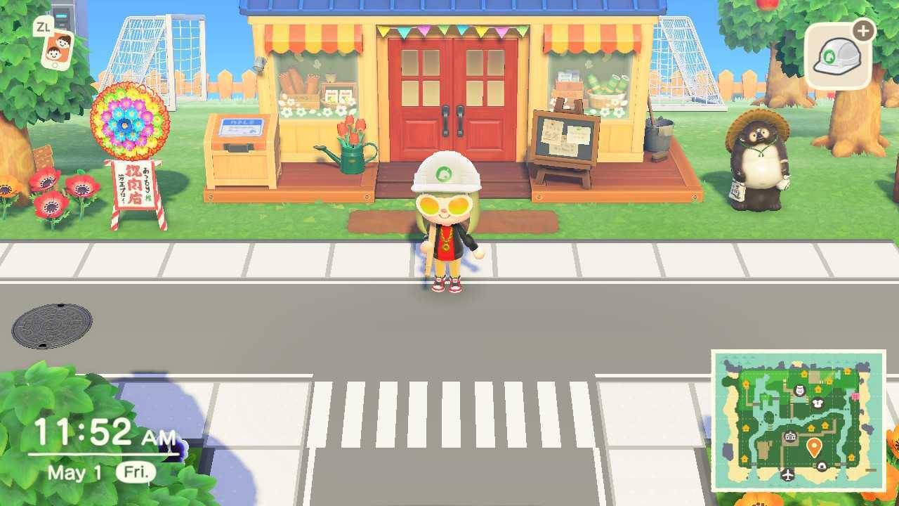 Gameplay Animal Crossing